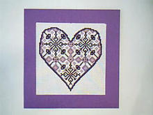 Card for (QUILTED) Colour-Purple Theme E01