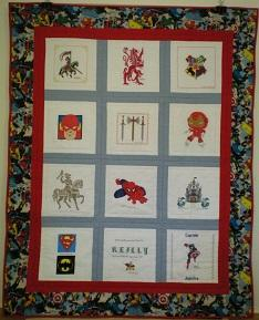 Photo of Reillys quilt