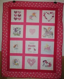 Photo of Maddison-Rayne Bs quilt