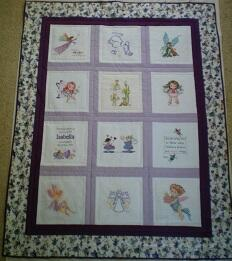Photo of Isabella Ts quilt